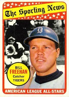 Bill Freehan Baseball Card of the Day